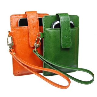 Castello Italian Leather Smart/ iPhone Wristlet