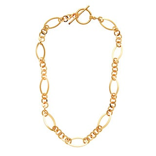 Simon Frank 20-inch Triple Round Link Fashion Chain Necklace