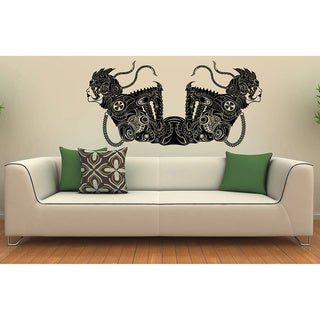 Machina Girls Vinyl Wall Decal