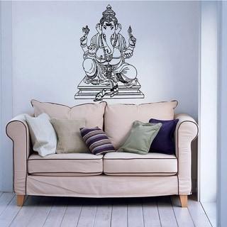 Ganesha Vinyl Wall Decal