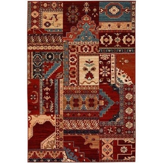"Timeless Treasures Kerman Mosaic Rug (5'3"" X 7'6"")"