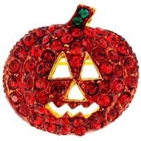Siam Pumpkin Halloween Pin Brooch