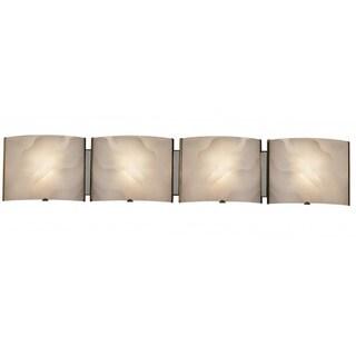 Contemporary 4-light Chrome Bath/ Vanity Fixture