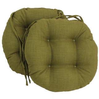 Link to Blazing Needles 16-inch Round Indoor/Outdoor Chair Cushions (Set of 2) Similar Items in Outdoor Cushions & Pillows