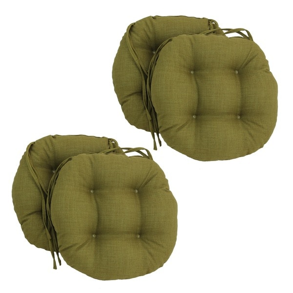 Blazing Needles Solid 16 X 16 Inch Round Outdoor Chair