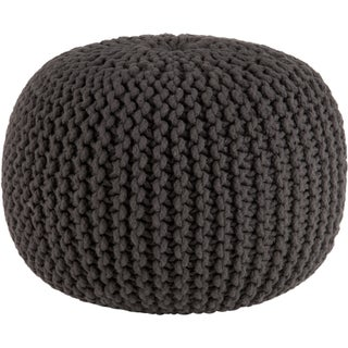 Oliver & James Pippin Hand-knitted Cotton Pouf (More options available)