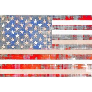 'American Dream' Printed Canvas Art