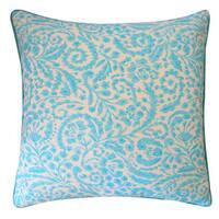 20 x 20-inch Amigo Turquoise Throw Pillow
