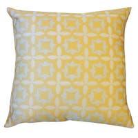 20 x 20-inch Motif Throw Pillow