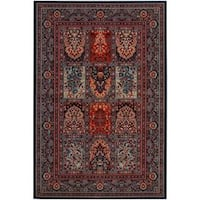 "Timeless Treasures Vintage Baktiari Ebony-Black Area Rug - 6'6"" x 9'10"""