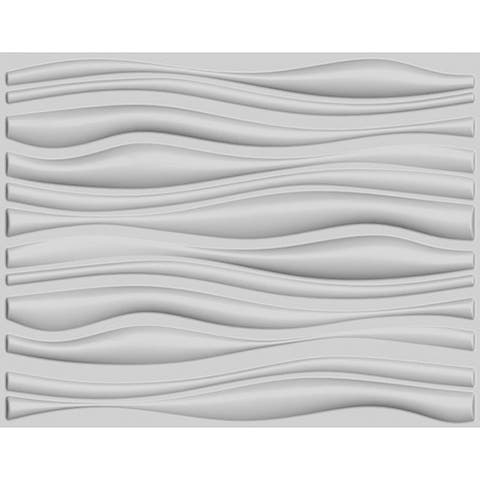 Branches 3D Wall Panels (32 Square Feet) - Off White
