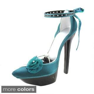 Jacki Design Elegant Rose Platform Ring/ Earring Holder