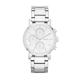 DKNY Women's Mirror Chronograph Watch