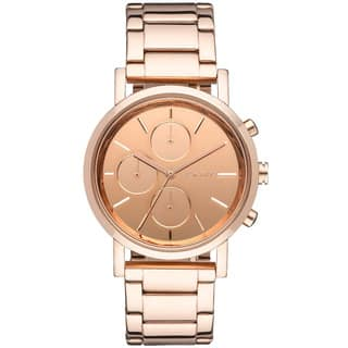 DKNY Women's Mirror Rose-gold-tone Chronograph Watch|https://ak1.ostkcdn.com/images/products/8571429/DKNY-Womens-Mirror-Rose-gold-tone-Chronograph-Watch-P15846091.jpg?impolicy=medium
