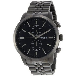 Fossil Men's FS4786 Townsman Black Stainless Steel Watch|https://ak1.ostkcdn.com/images/products/8571434/P15846097.jpg?impolicy=medium