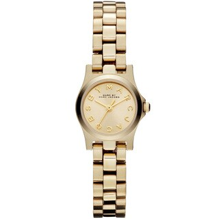 Marc Jacobs Women's MBM3199 'Henry Dinky' Goldtone Stainless Steel Watch