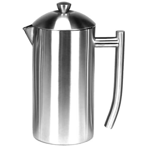 Frieling Double Wall Stainless 23Oz French Press Coffee Maker Polished