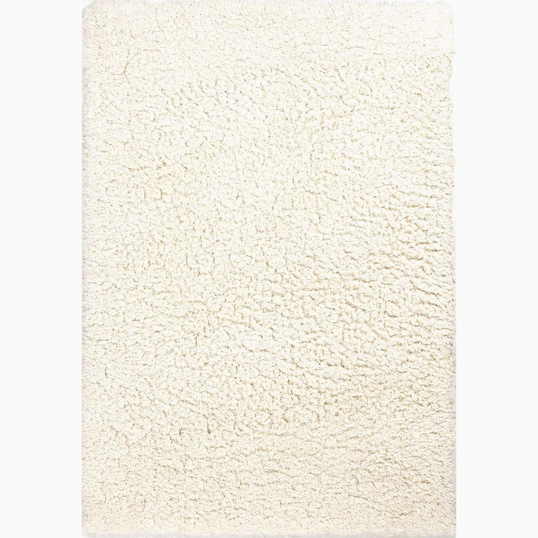 Juniper Home Nixon Handmade Solid White Area Rug (5' X 8'...