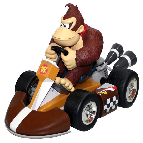 Super Mario Brothers Donkey Kong Large Pull Back Racer Car