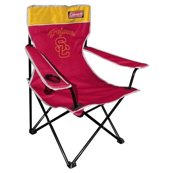 Coleman NCAA USC Trojans Quad Tailgate Chair