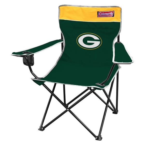 Coleman NFL Green Bay Packers Quad Tailgate Chair