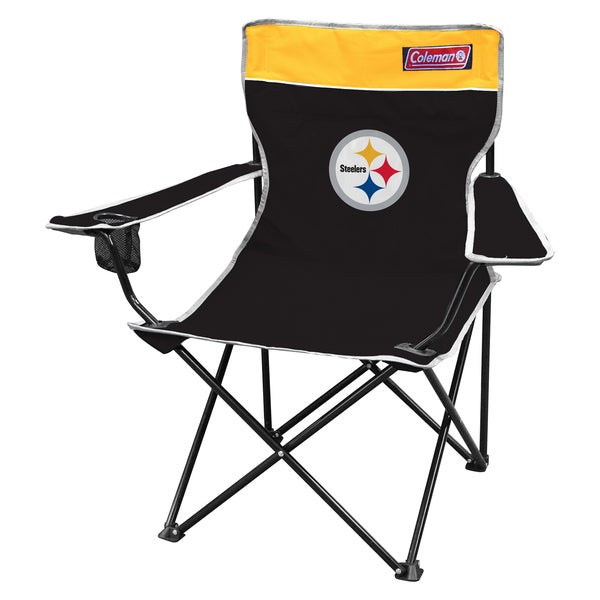 Coleman NFL Pittsburgh Steelers Quad Tailgate Chair