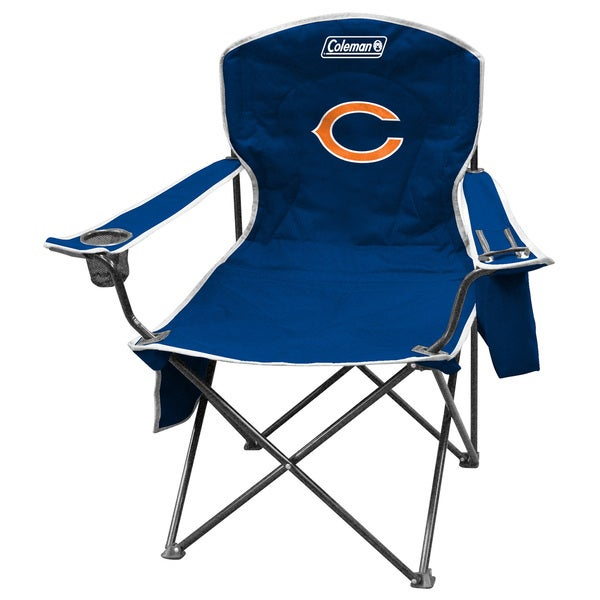 Coleman NFL Chicago Bears XL Cooler Quad Chair