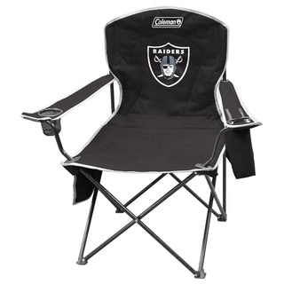 Coleman NFL Oakland Raiders XL Cooler Quad Chair