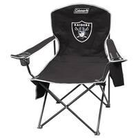 Coleman NFL Oakland Raiders XL Cooler Quad Chair