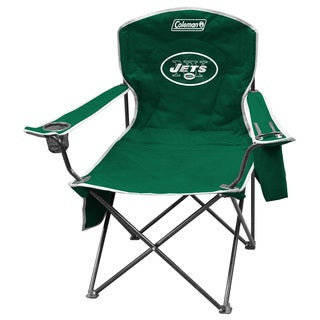 Coleman NFL New York Jets XL Cooler Quad Chair