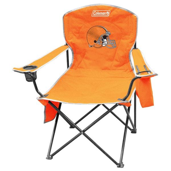 NFL Cleveland Browns XL Cooler Quad Chair