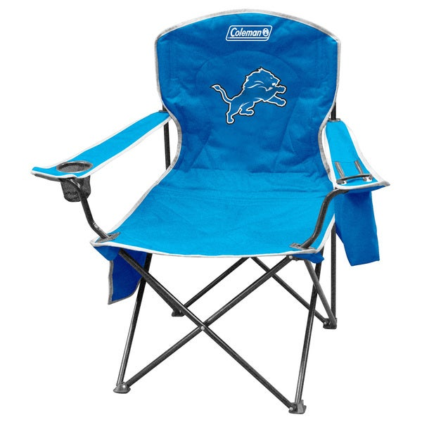 NFL Detroit Lions XL Cooler Quad Chair