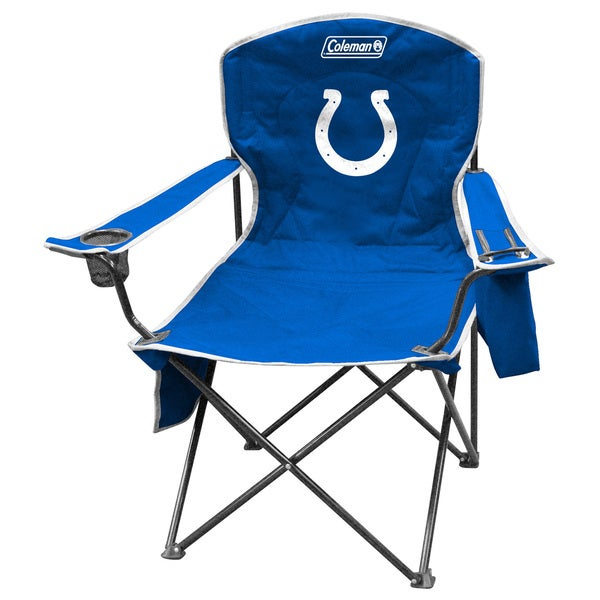 Coleman NFL Indianapolis Colts XL Cooler Quad Chair