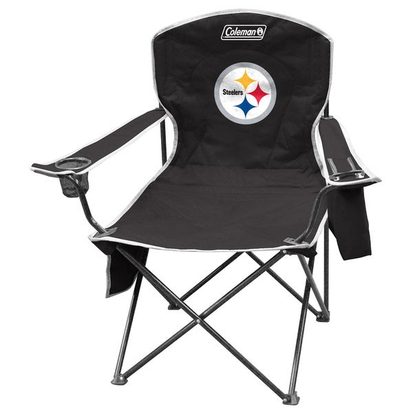 Delicieux Coleman NFL Pittsburgh Steelers XL Cooler Quad Chair