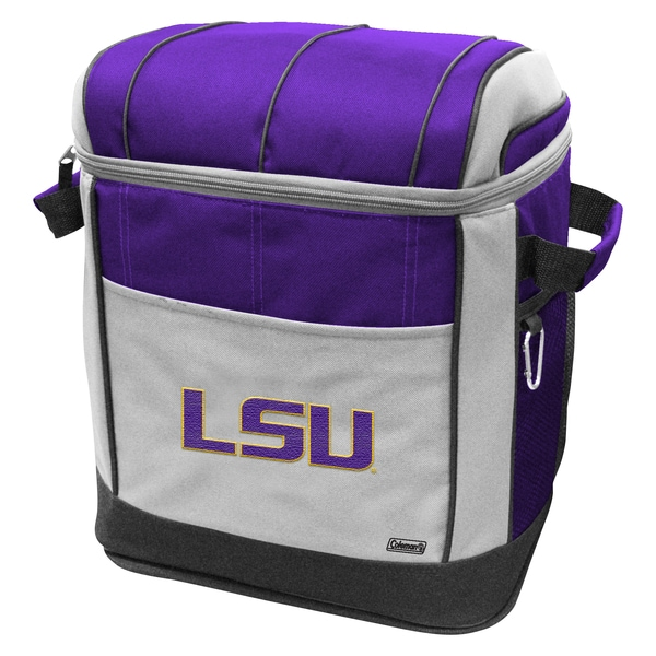Coleman NCAA LSU Tigers 50-can Rolling Cooler