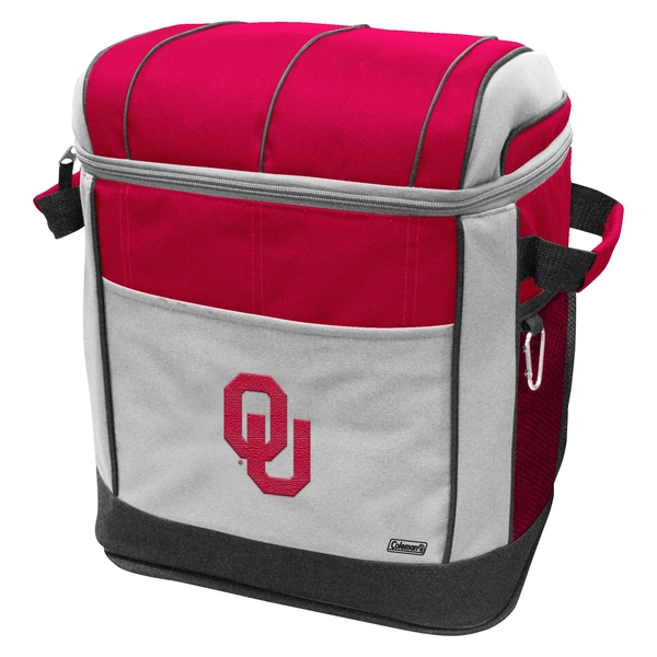Coleman NCAA Oklahoma Sooners 50-can Rolling Cooler
