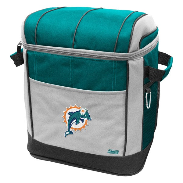 Coleman NFL Miami Dolphins 50-can Rolling Cooler