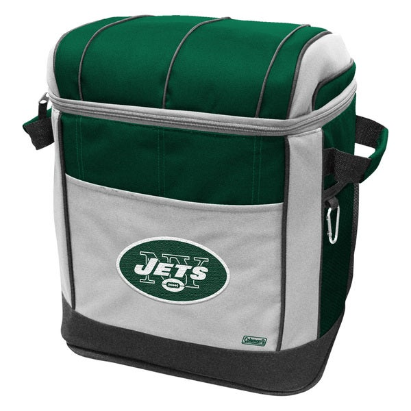 Coleman NFL New York Jets 50-can Rolling Cooler