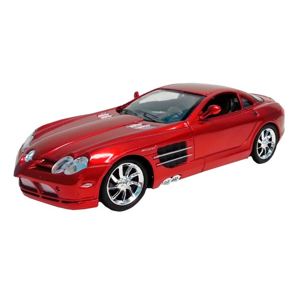 Mercedes Benz Red SLR 1:24 Scale RC Car