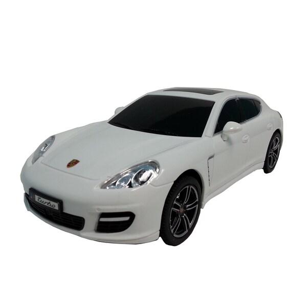 Porsche White 1:24 Scale Remote Control Car