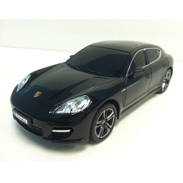 Porsche Black 1:24 Scale Remote Control Car