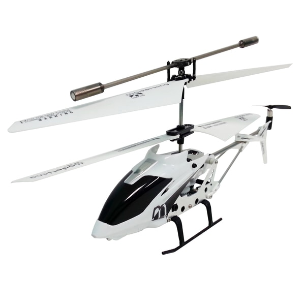 Infrared 3.5-Channel Remote Control White Helicopter