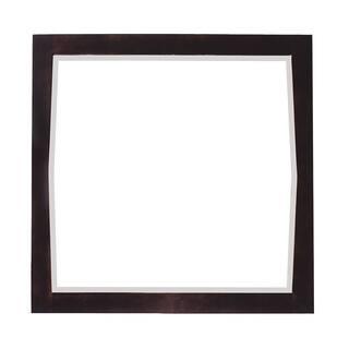 Roxy Square Antique Walnut Finish Wood Framed Mirror|https://ak1.ostkcdn.com/images/products/8572593/P15847147.jpg?impolicy=medium