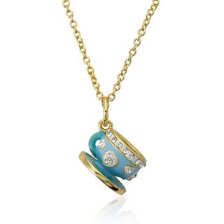 Molly Glitz 14k Gold Plated Blue Tea Cup Pendant Necklace|https://ak1.ostkcdn.com/images/products/8572598/Molly-Glitz-14k-Gold-Plated-Blue-Tea-Cup-Pendant-Necklace-P15847123.jpg?impolicy=medium