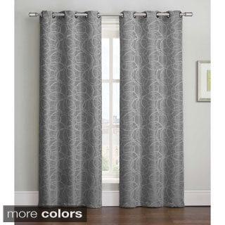 VCNY Tianna 84 inch Grommet Curtain Panel Pair