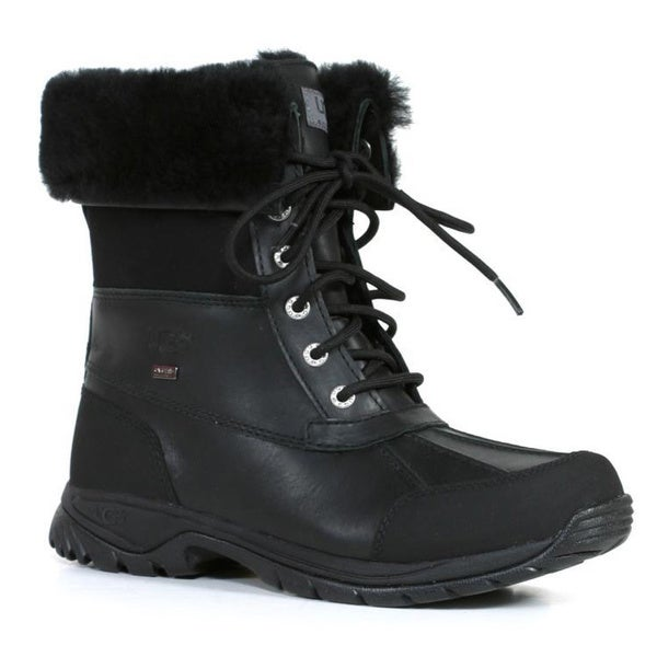 ef0f7dfd28d Shop Ugg Kids Black Butte Boots - Free Shipping Today - Overstock ...