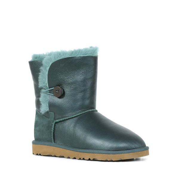 13ba1d3df98 Shop Ugg Kids Pineneedle Bailey Button Metallic Boots (Size 6 ...