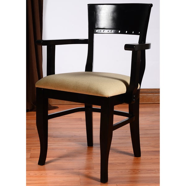 Biedermier Wooden Chair With Arms