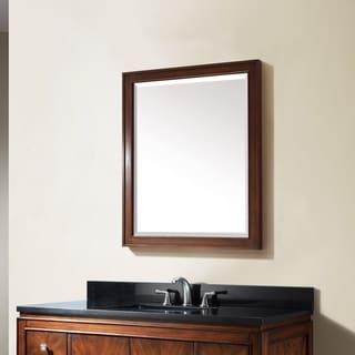 "Avanity Brentwood 24 in. Wall Mirror - New Walnut - New Walnut - 24""W x 32""H"