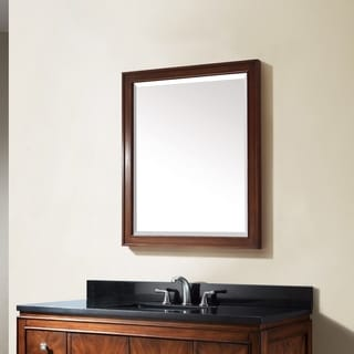 Avanity Brentwood 30-inch Mirror in New Walnut finish